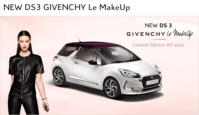 DS3 GIVENCHY Le Make Up デビュー!