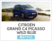 CITROËN GRAND C4 PICASSO WILD BLUE DEBUT