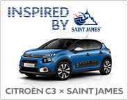 CITROËN C3×SAINT JAMES DEBUT