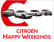 CITROEN HAPPY WEEKENDS